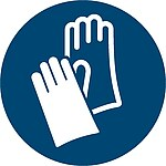 Gebotszeichen M009: Handschutz benutzen