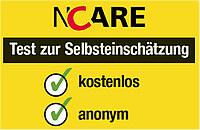 Logo für den kostenlosen und anonymen Test zur Selbsteinschätzung